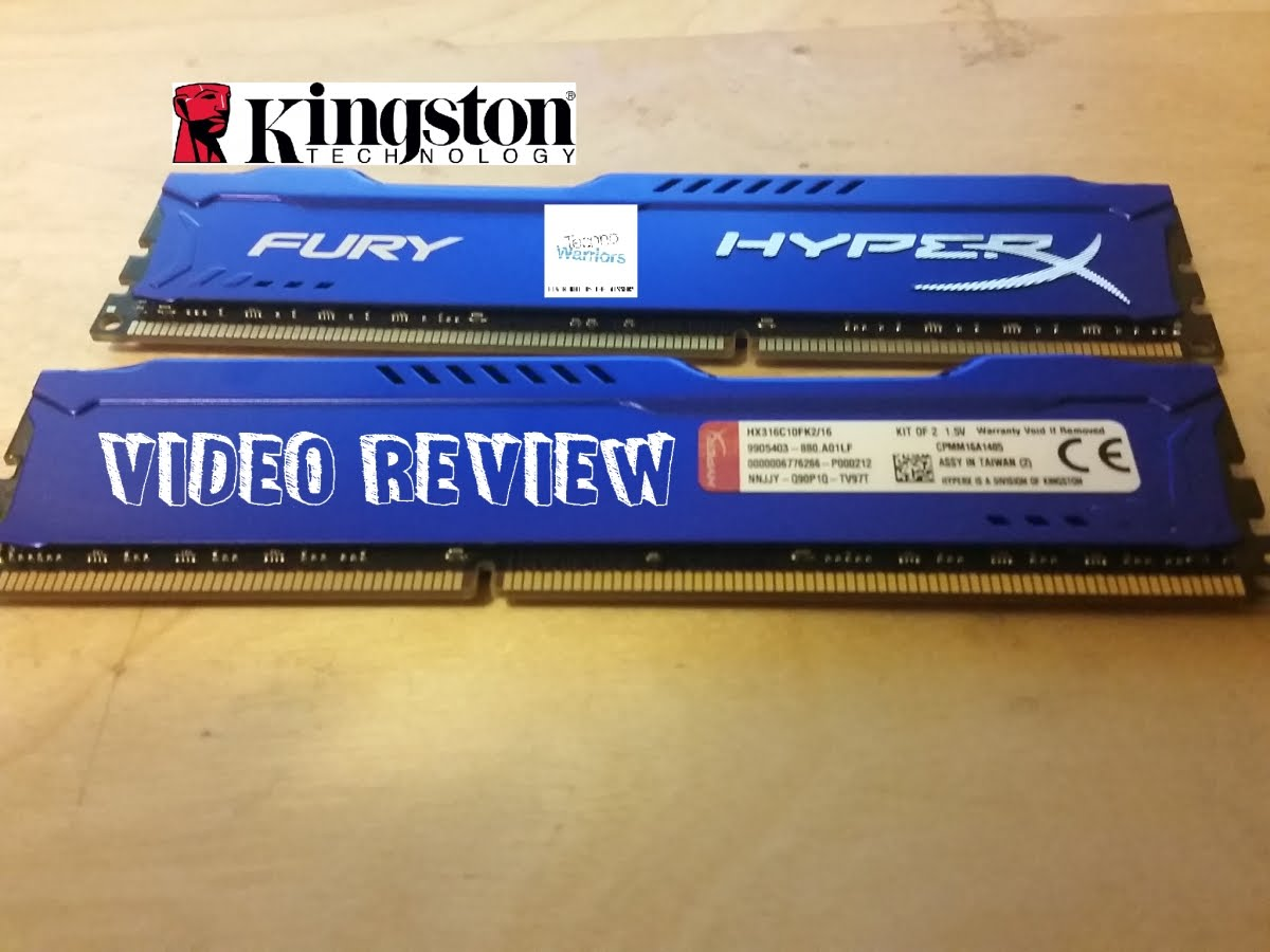 KINGSTON 16GB/DDR3/1600 (2*8) HyperX Fury