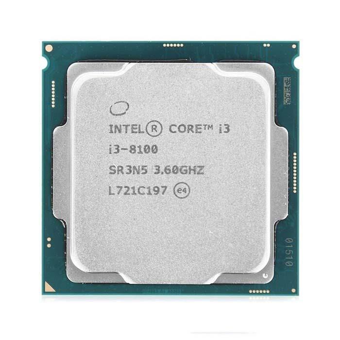 CPU Intel I3 - 8100 Tray