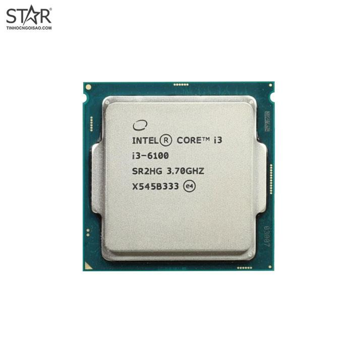 CPU Intel I3 - 6100 Tray