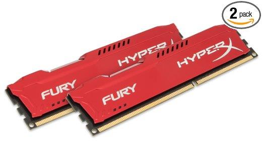 KINGSTON 4GB/DDR3/1600 Hyperx Fury