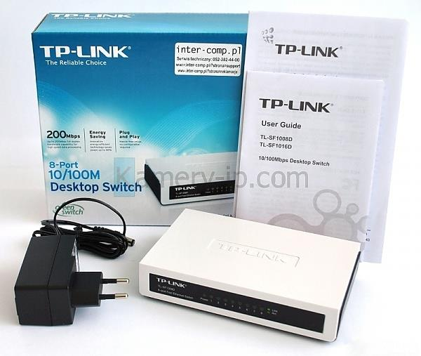 TP Link TL-SF1008D 8-ports 10/100M mini Desktop Switch