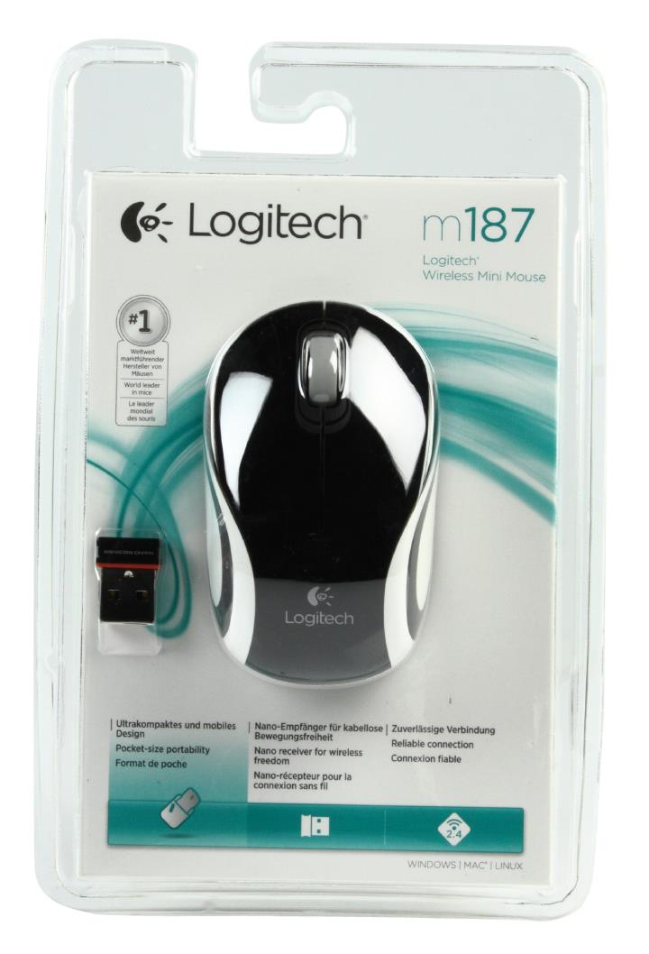 Mouse Logitech Wireless M187